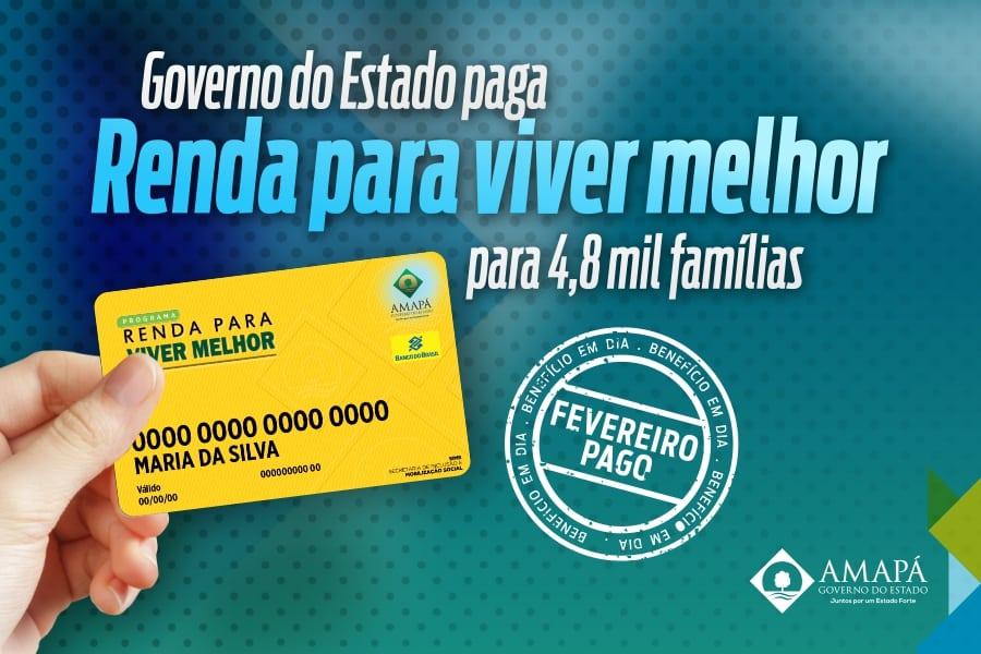 Renda Para Viver Melhor: Entenda como funciona projeto de auxílio básico no Amapá