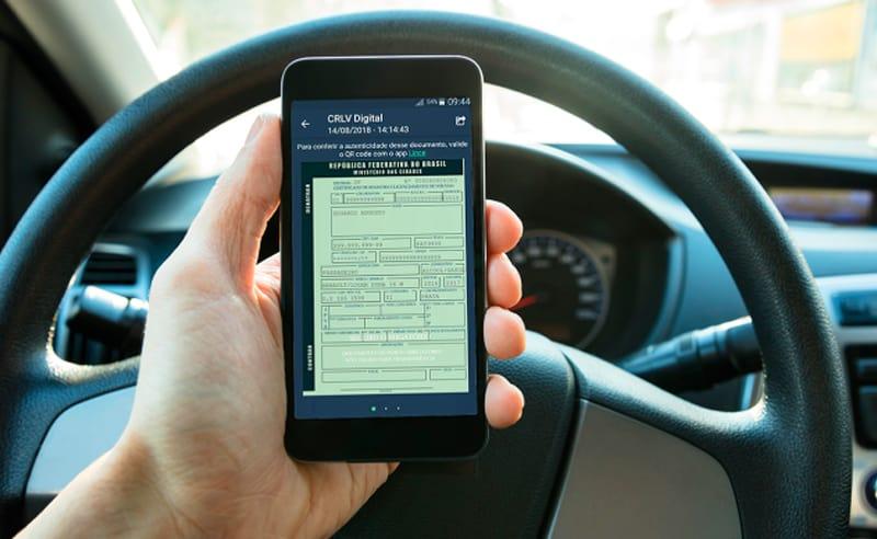 CRLV Digital: Imprima o documento ou acesse no celular e computador