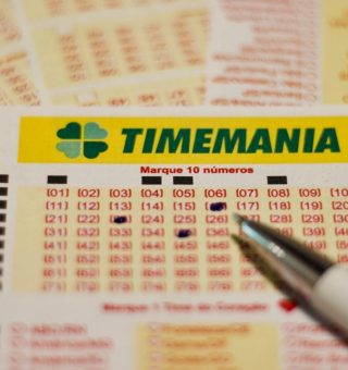 Confira quais foram os números sorteados ontem (5) na Timemania, com premiação de R$8,5 milhões