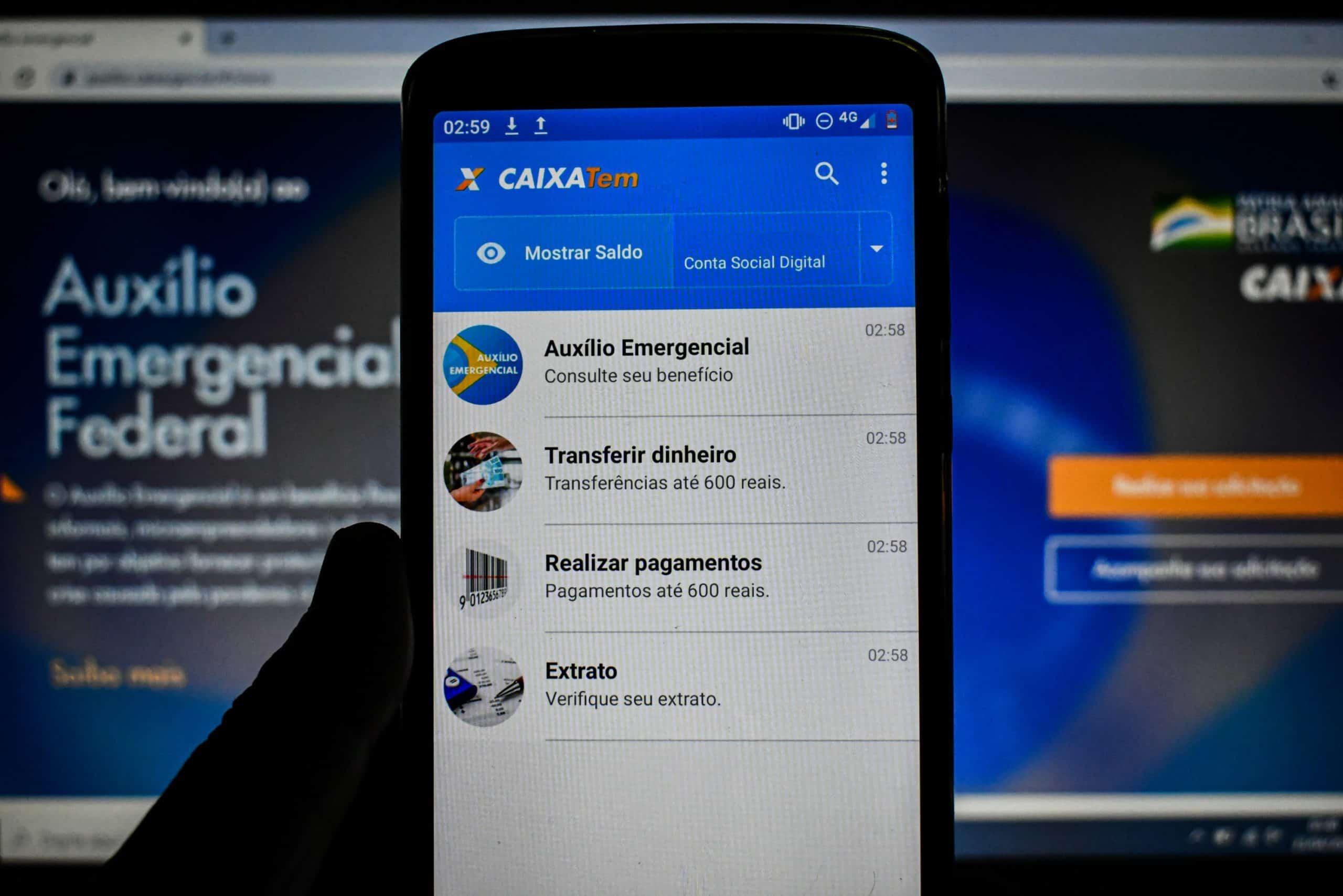 Caixa TEM: Empréstimo online e funções do aplicativo para usuários (Imagem: Reprodução/Google)