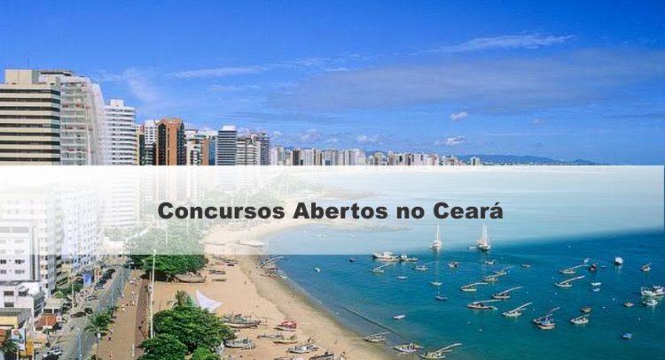 ESTES são os principais concursos públicos 2021 abertos no Ceará