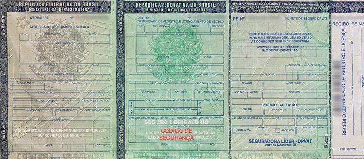 Detran-PE publica regras para emissão e pagamento do CRV