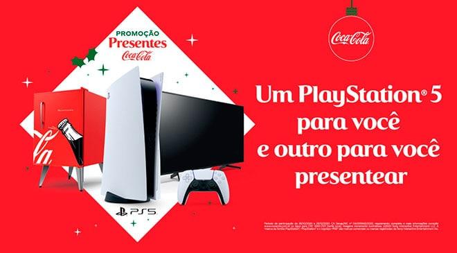 Promoção Coca-Cola 2020: Sorteio de Natal com 2 PlayStations e Mais (Como Participar)