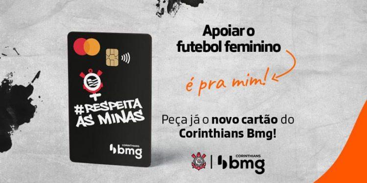 Cliente do Corinthians Bmg tem acesso a cartão exclusivo de apoio ao futebol feminino
