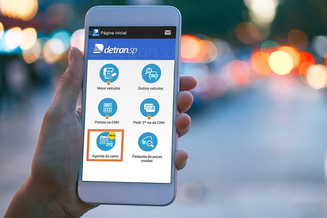 App Detran-SP: Passo a passo para agendar atendimento em uma unidade