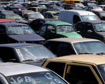 Detran-SP faz leilão de veículos com descontos de 50%