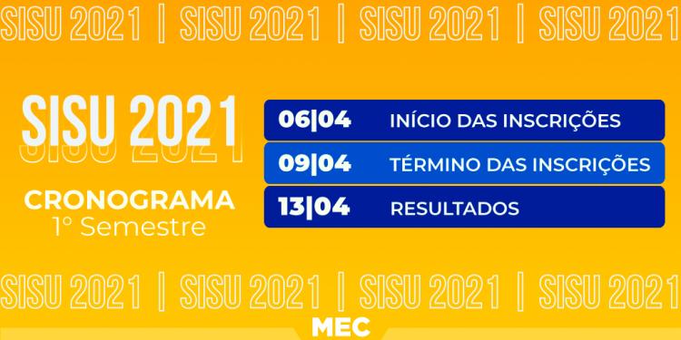 Cronograma do SiSU 2021 foi divulgado! MEC divulga previsões das próximas fases (Imagem/Reprodução: Google)