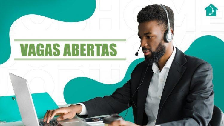 Startup abre 200 VAGAS de emprego com contratação para home office