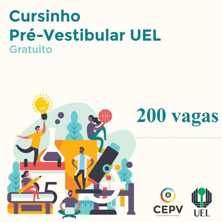 UEL abre inscrições para participação em cursinho pré-vestibular GRÁTIS