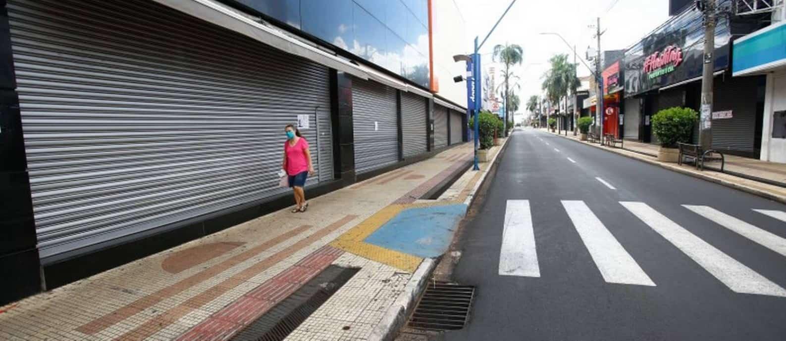 O que abre e fecha no comércio com lockdown em todo estado de São Paulo
