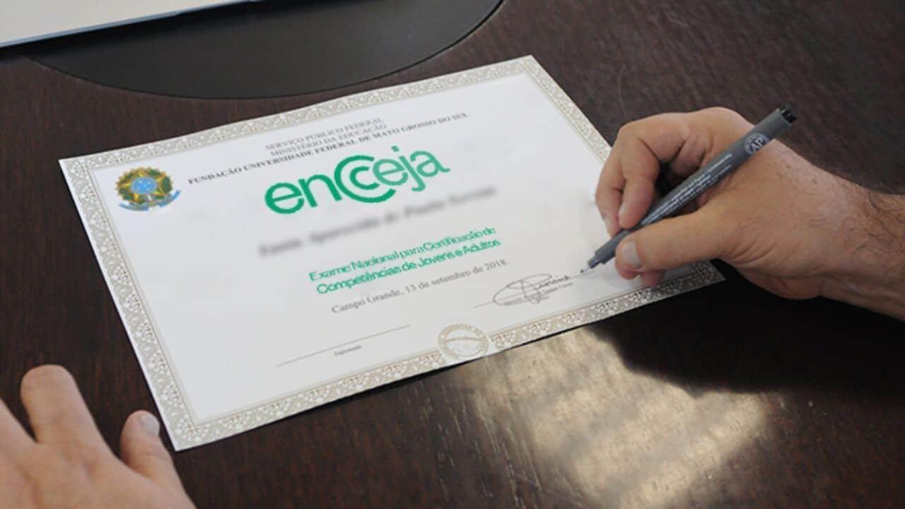 ENCCEJA: Confira nota mínima a ser conquistada para aprovação