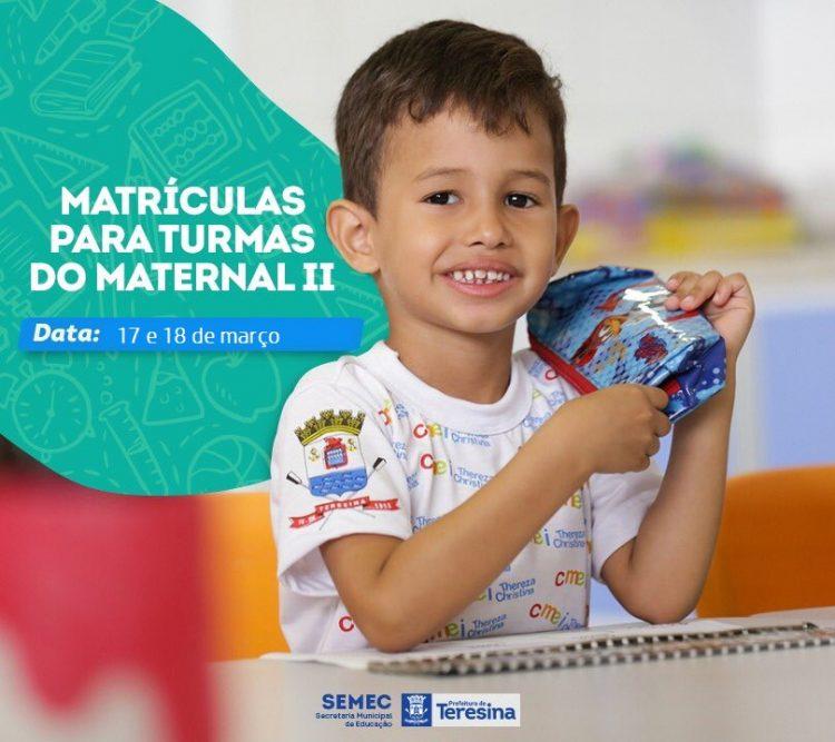 SEMEC abre matrícula escolar para Maternal II nos Centros Municipais de Educação (Imagem/Reprodução: Google)