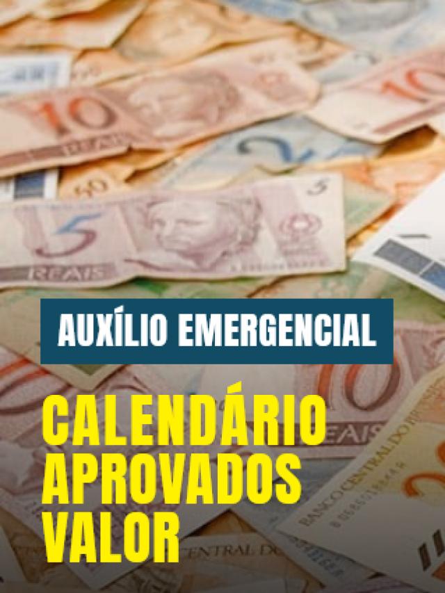 Auxílio emergencial 2021: Calendário, Valor e Lista de Aprovados