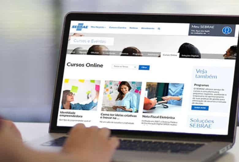 Sebrae tem 540 vagas abertas em cursos gratuitos em EAD; inscreva-se