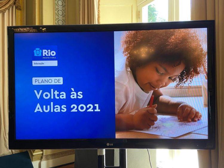 Novo calendário de início das aulas presenciais no Rio de Janeiro
