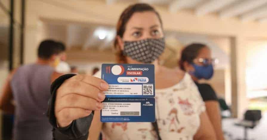 Recarga do vale-alimentação escolar no Pará faz novos pagamentos hoje (7)