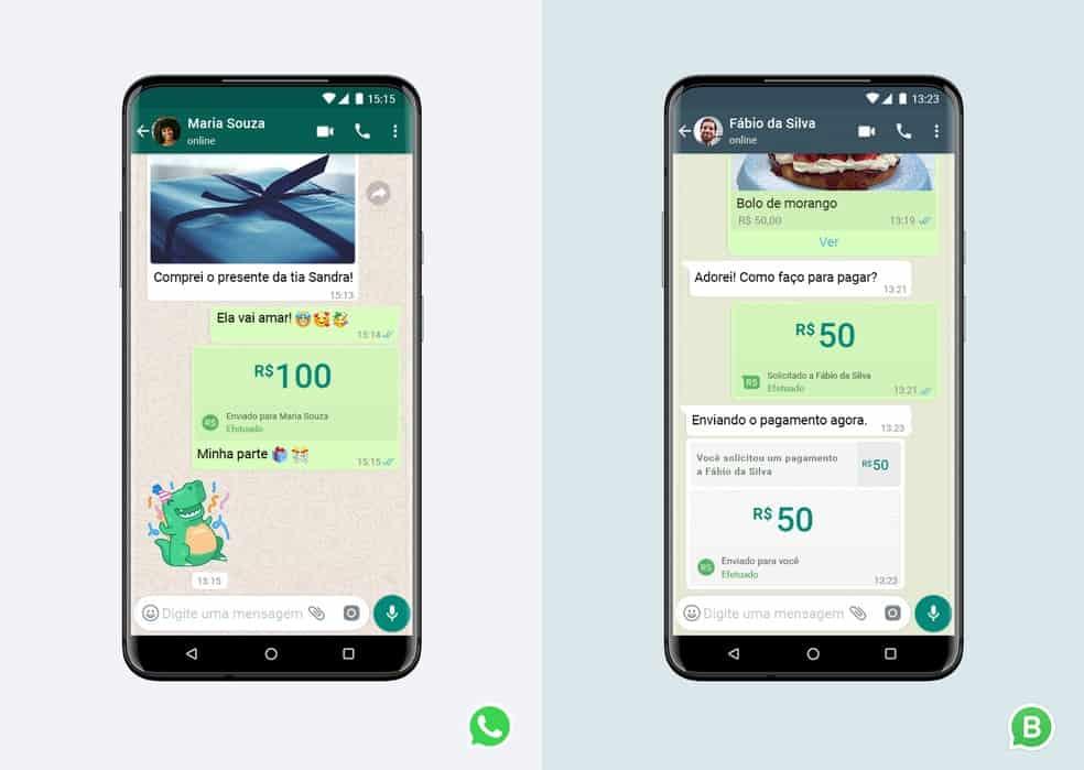 Transferência de dinheiro por WhatsApp começou no Brasil; saiba como usar! (Imagem: Divulgação/WhatsApp)