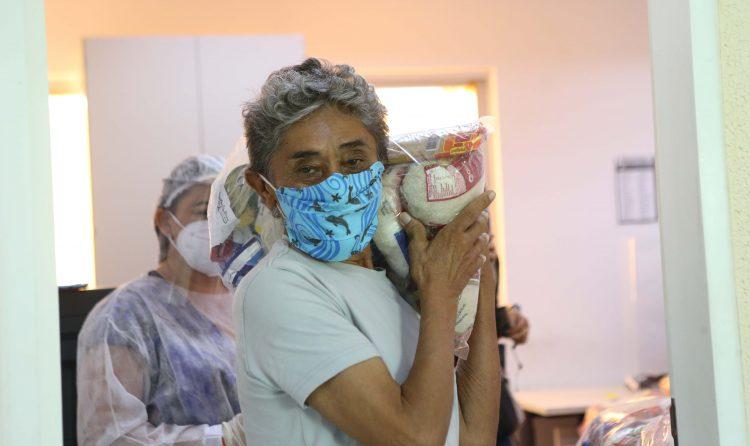 Começou! Inscritos no Bolsa Família já podem receber cestas básicas no Ceará