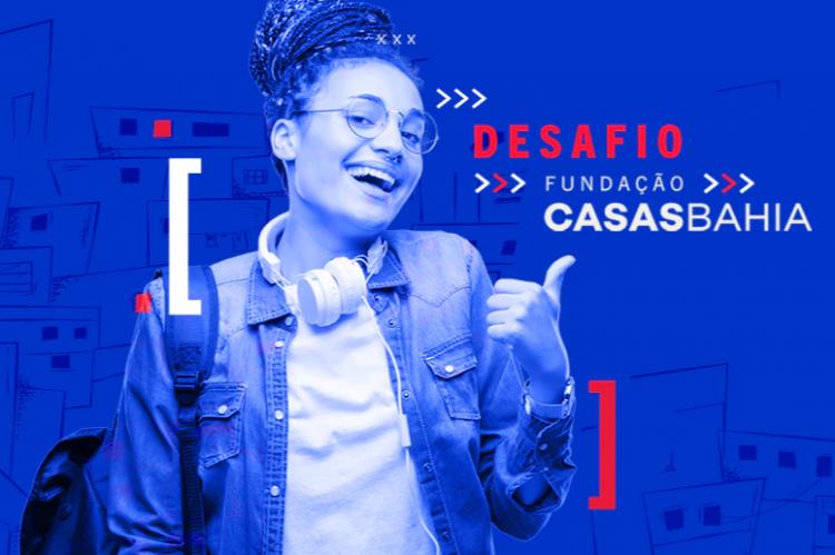 Fundação Casas Bahia seleciona 3 MIL jovens para criação de startup