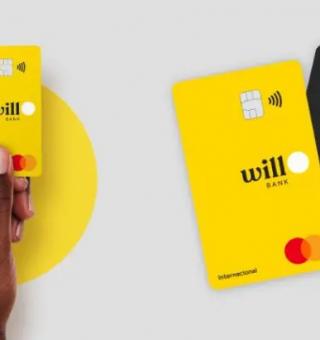 Cartão de crédito Will Bank promete trazer inovação e benefícios para usuários