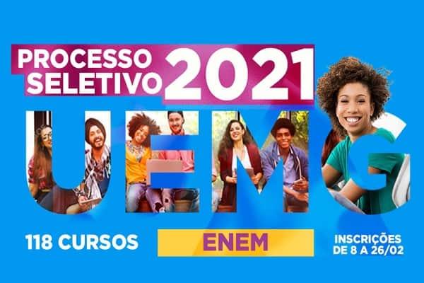 Vestibular 2021 da UEMG divulga aprovados com nota do ENEM