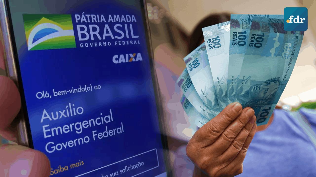 Auxílio emergencial vai acabar no próximo mês com valor e beneficiários reduzidos (Imagem: FDR)