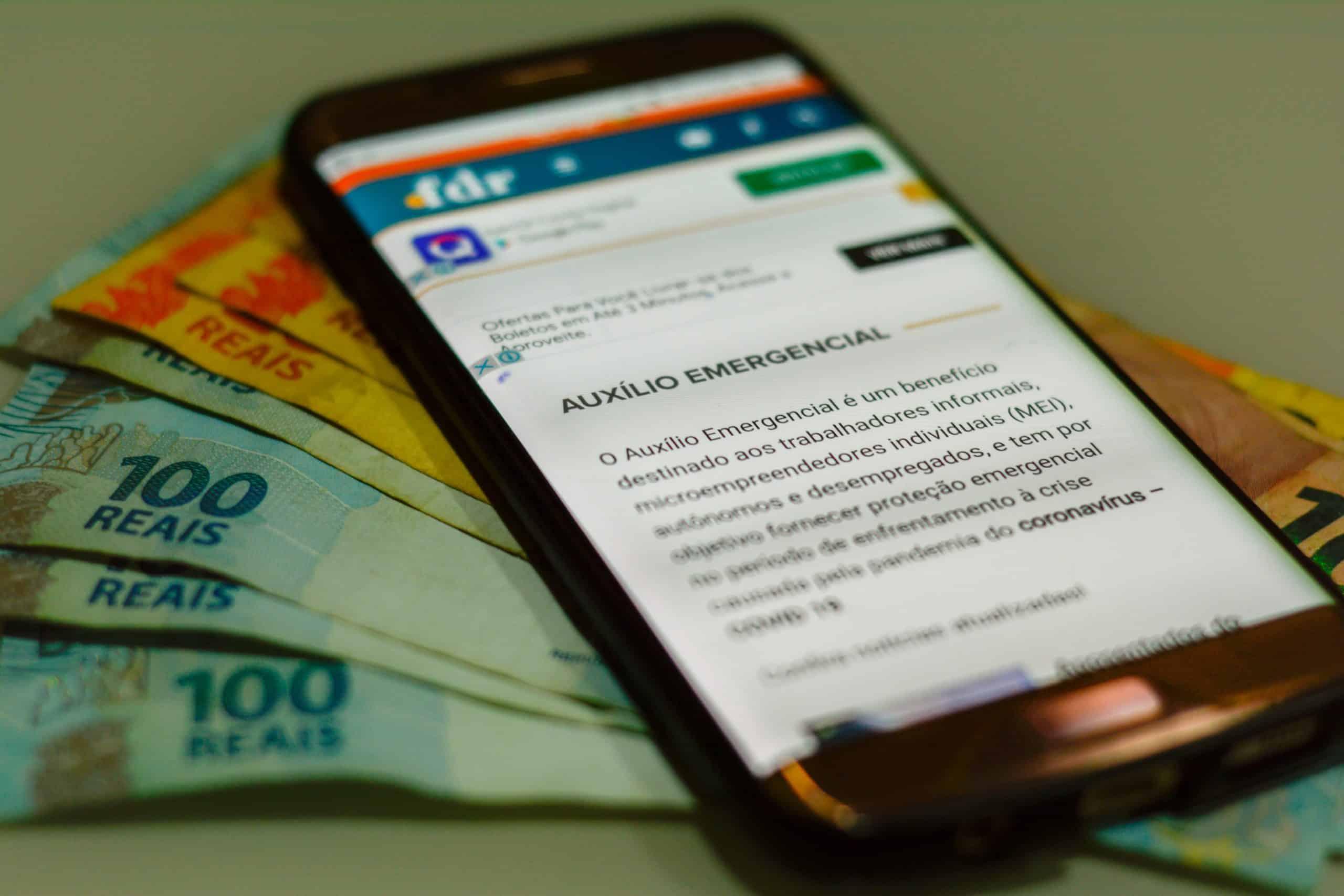 Dataprev lança novo prazo para solicitar 2ª parcela do auxílio emergencial (Imagem: Marcos Rocha/ FDR)