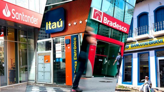CAIXA, Itaú, BB, Bradesco e Santander funcionam na segunda (11) e terça (12)?