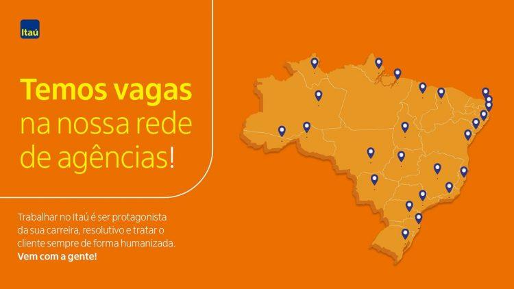 Itaú anuncia 90 vagas de emprego e estágio no Rio de Janeiro; inscreva-se!