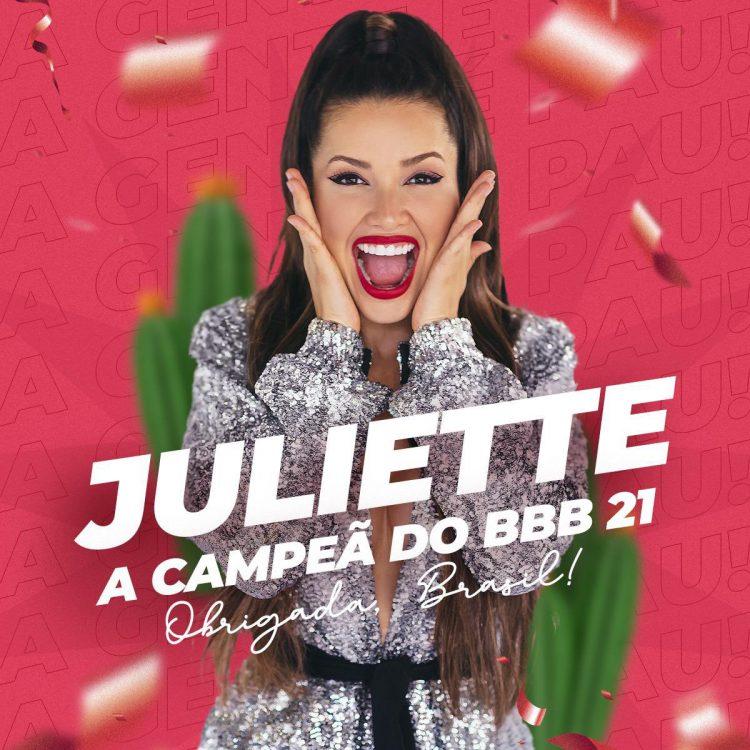BBB 21: Se a Juliette investir o prêmio de R$1,5 milhão, terá ESTE lucro