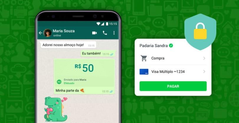 WhatsApp Pagamentos poderão integrar transferências via PIX