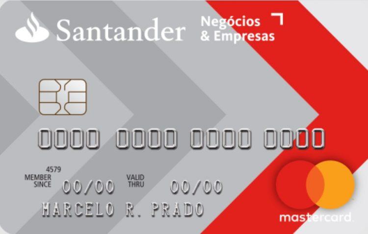 Cartão de Crédito Santander Negócios & Empresas: Avaliação e como solicitar!