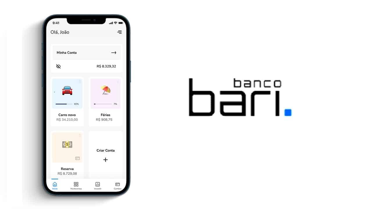 Conta digital do Banco Bari foi lançada! Descubra todos os serviços oferecidos