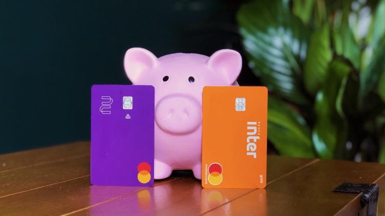 Cartão Nubank ou Banco Inter
