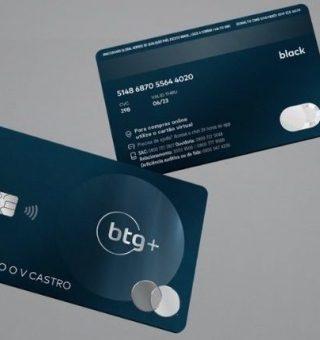 BTG+ aprova cartões de crédito com super limites para novos clientes