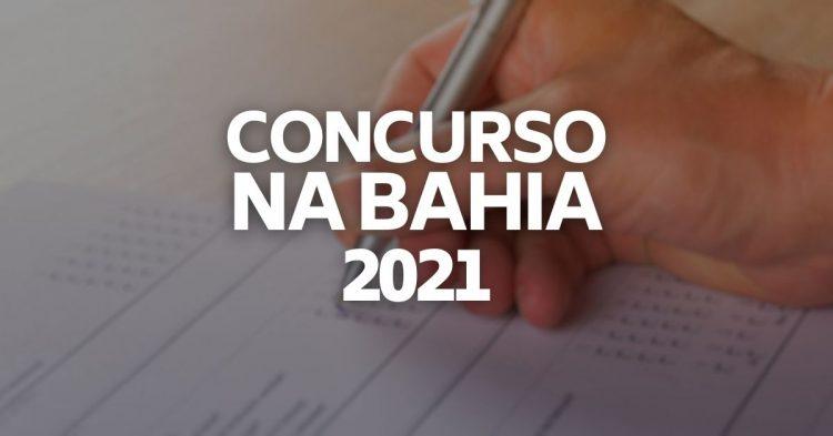 Concursos na Bahia oferecem vagas de emprego em 2021