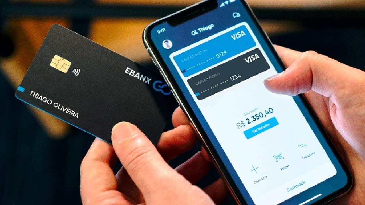 Ebanx Go: Conta digital oferece cartão virtual pré-pago com CASHBACK