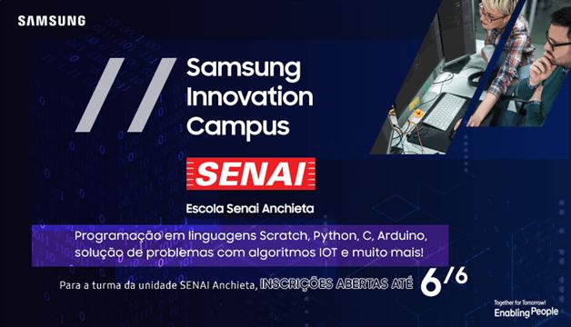 Senai inicia parceria com Samsung para oferecer capacitação em tecnologiaSenai inicia parceria com Samsung para oferecer capacitação em tecnologia