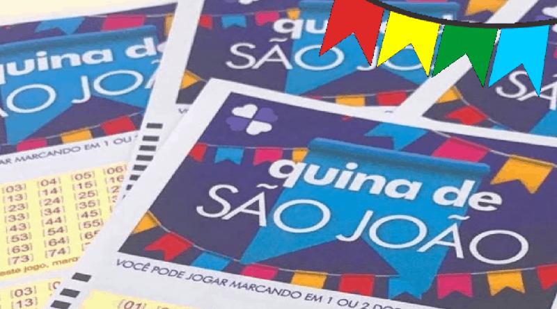 Quina de São João paga R$ 190 milhões com sorteios até hoje! Faça sua aposta