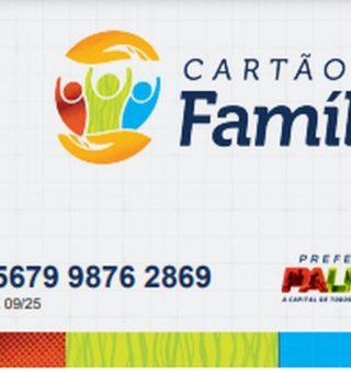 Cartão para receber auxílio em Palmas começa a ser distribuído nesta quinta (17)