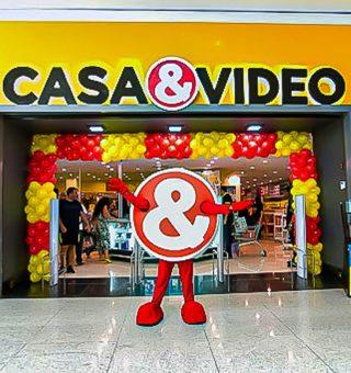 Casa & Vídeo abre 200 vagas de emprego visando expansão da marca