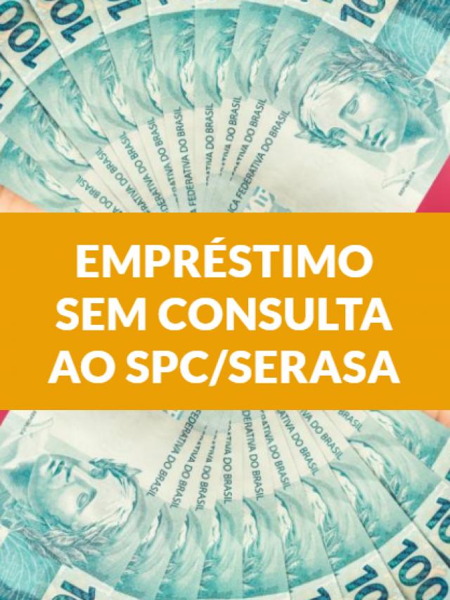 Conseguir empréstimo sem consulta ao SPC/Serasa ficou fácil!