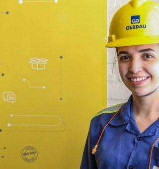 Gerdau abre inscrições para 45 vagas de emprego exclusiva para mulheres