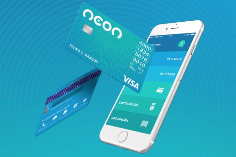 Neon lança programa de cashback para compras realizadas no cartão
