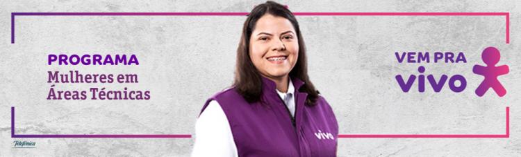 VIVO abre 100 vagas de emprego exclusivas para mulheres; saiba como participar