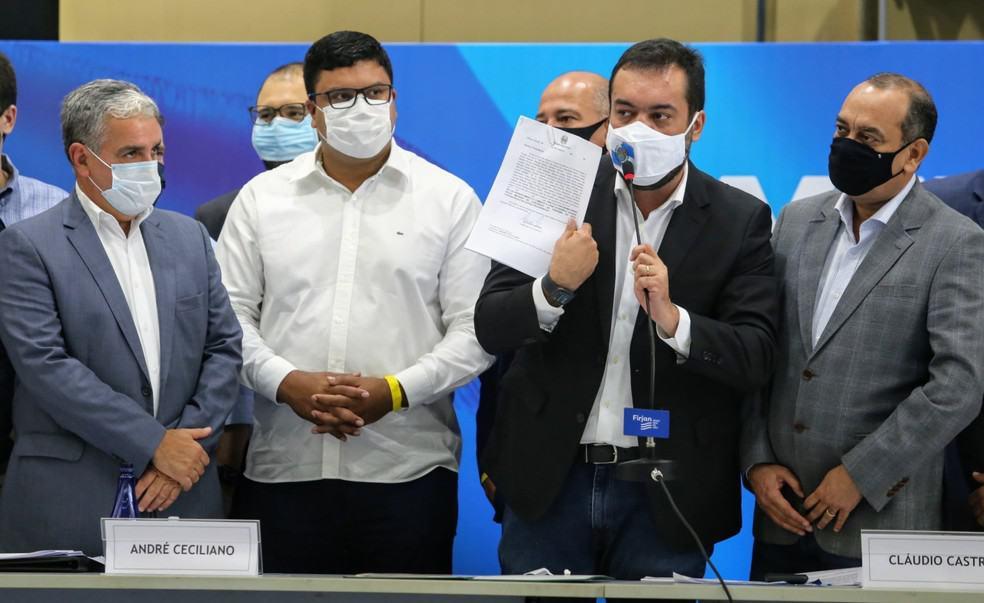 Governo do Rio de Janeiro cria novo auxílio com parcelas de R$ 1,5 mil (Foto: Rogério Santana/ Governo do RJ/Divulgação)