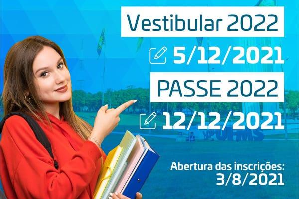 Vestibular da UFMS 2022 ganha calendário oficial; confira aqui!