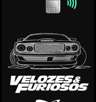 Credicard lança cartão com versão inédita do filme Velozes e Furiosos 9