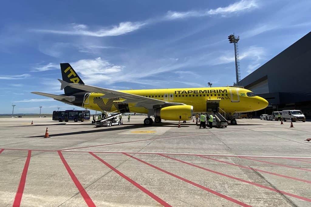 Itapemirim inicia voos nacionais com bagagem grátis e condições especiais