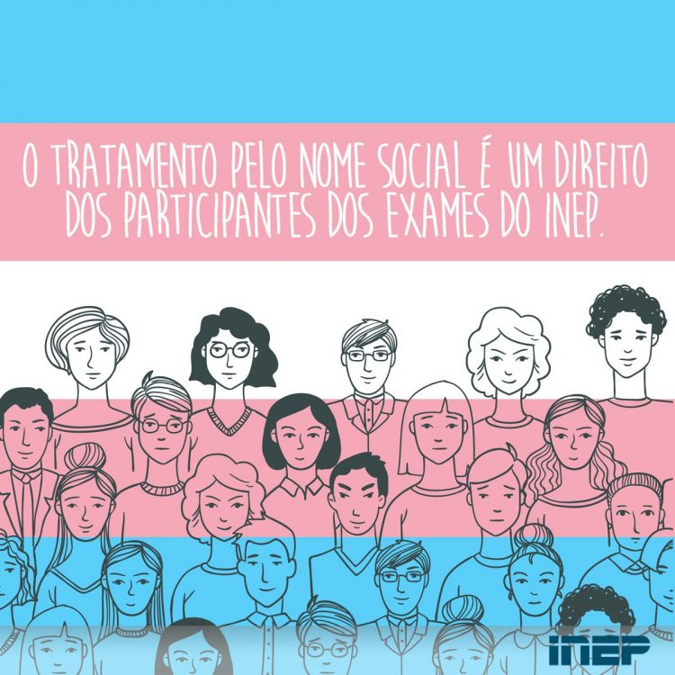 Pedido pelo uso do nome social já está disponível no ENEM 2021